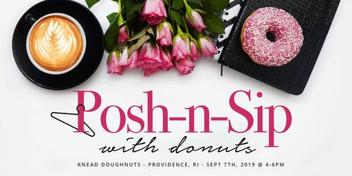Posh-n-Sip with Donuts