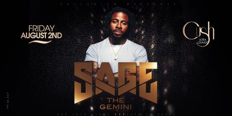 Sage The Gemini performing live at the Palladium Nightclub tickets