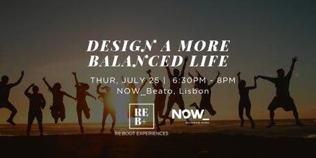"""Design a More Balanced Life"" Workshop tickets"