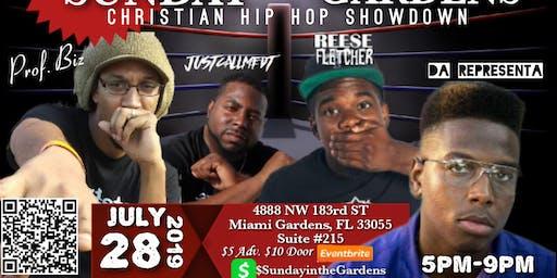Sunday In The Gardens: Christian Hip-Hop Showdown