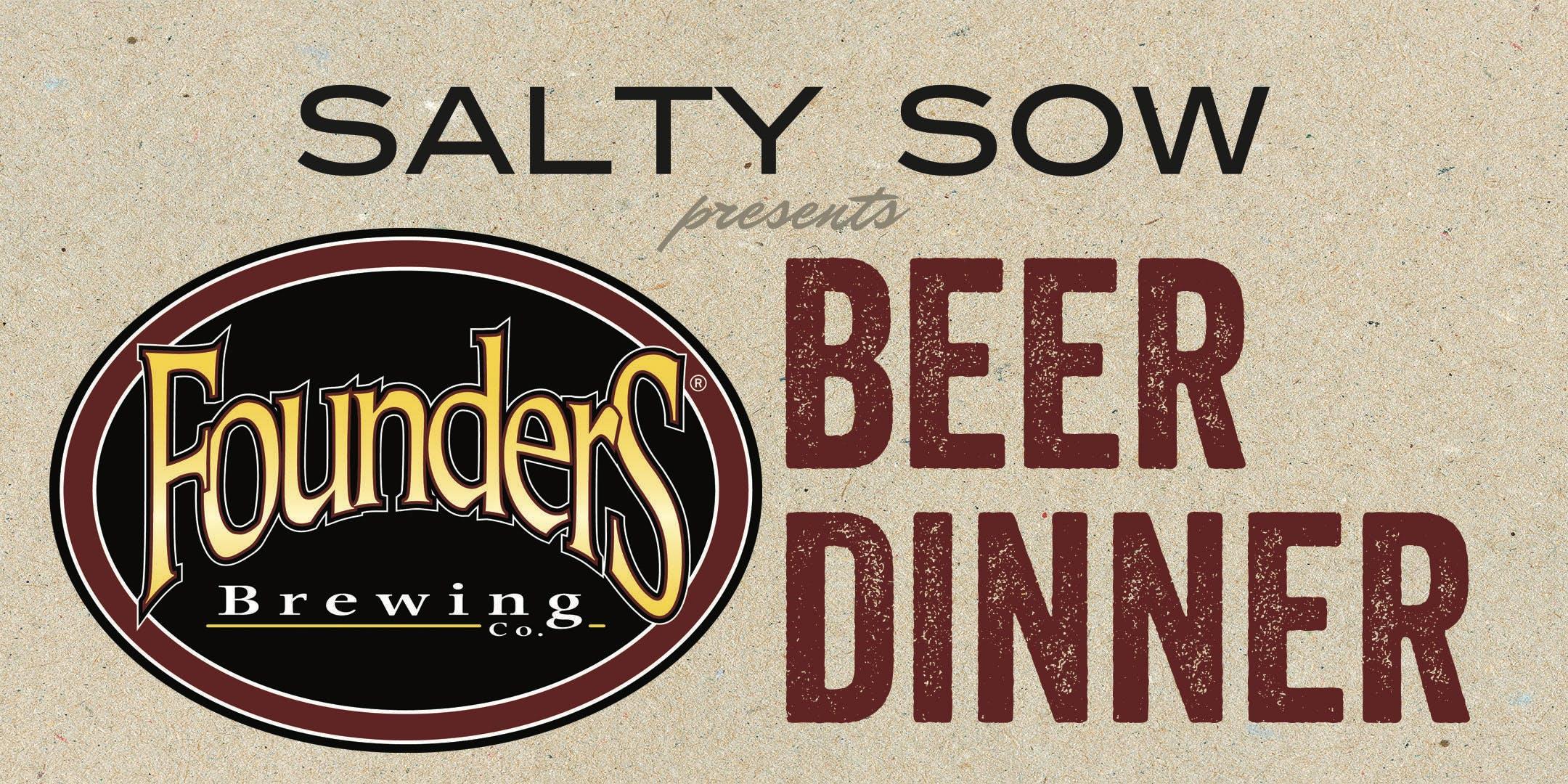 Salty Sow Beer Dinner