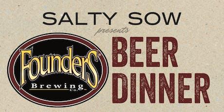 Salty Sow Beer Dinner tickets