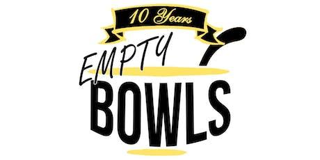 Empty Bowls 2019 tickets