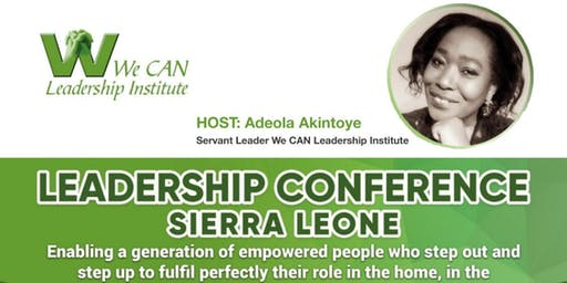 We CAN Leadership Conference 2019, SIERRA LEONE