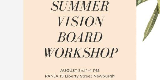 Summer Vision Board Workshop