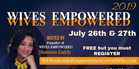 W.E. Weekend of Empowerment tickets
