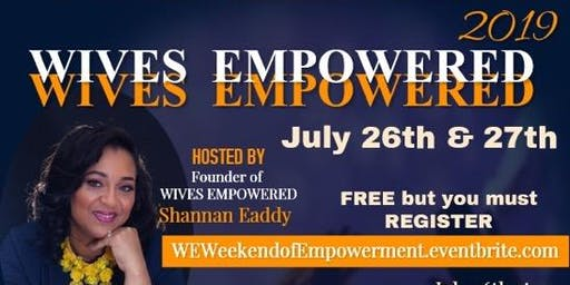 W.E. Weekend of Empowerment