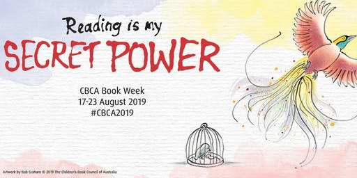 Children's Book Week: Reading is my secret power