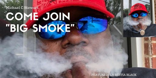 """Join """"Big Smoke"""" at Cigars Under the Stars at the Belmont Mansion 2019"""
