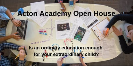 Acton Academy Open House tickets