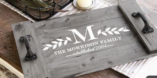 Build and design your own wooden serving tray