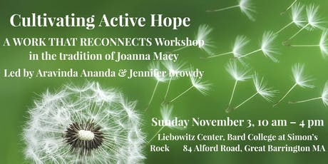 Cultivating Active Hope: A Works That Reconnects Workshop tickets