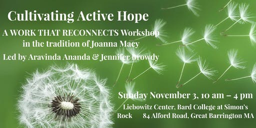 Cultivating Active Hope: A Works That Reconnects Workshop