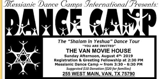 """MDCI """"Shalom in Yeshua"""" Dance Camp"""