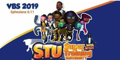 Vacation Bible School - Super Training University with Jesus