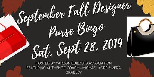 Designer Purse Bingop