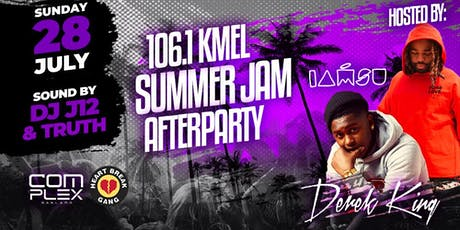 Summer Jam AfterParty w/ Derek King & IAMSU + Friends tickets