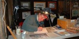 Art Show: Pen & Ink Artist Inga Seaboyer; Teaching Artist Judy Krassowski