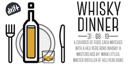 Whisky Dinner tickets