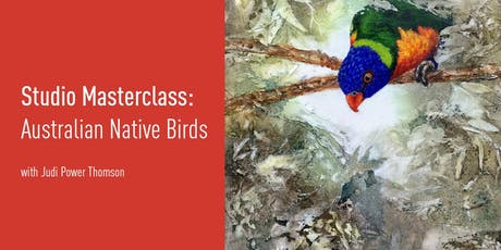 Studio Masterclass | Australian Native Birds tickets