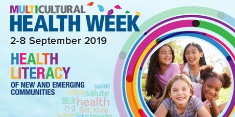 Launch of Multicultural Health Week & Presentation of MHC Awards tickets