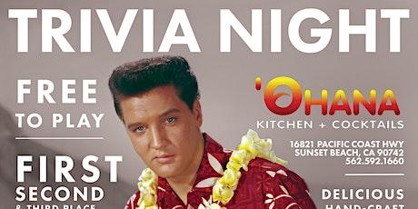 FREE TRIVIA! Mondays at Ohana Kitchen + Cocktails tickets