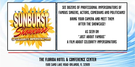The Sunburst Showcase of Celebrity Impersonators tickets