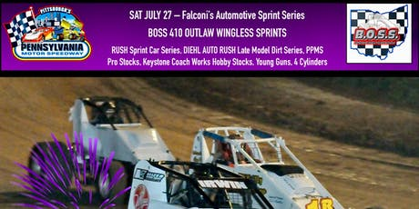 Falconi's Automotive Sprint Series featuring B.O.S.S. Sprints, RUSH Sprint Car Series, and more tickets