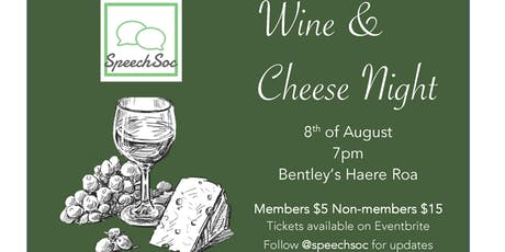 SpeechSoc Wine and Cheese Night tickets