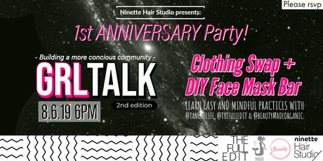 1st Anniversary Party + GRLTalk 2nd Edition tickets