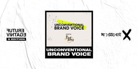 MARKETERs Unconventional Brand Voice - Domenica 15 Settembre // Future Vintage Festival 2019 biglietti