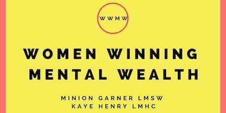 Women Winning Mental Wealth tickets