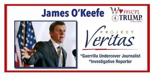 Road to 2020 Speaker Series November 2019 - James O'Keefe, Keynote