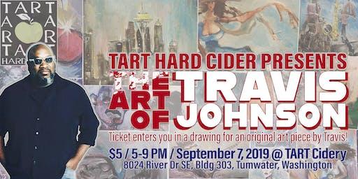 TRAVIS JOHNSON - ART SHOW at TART Hard Cider Tasting Room