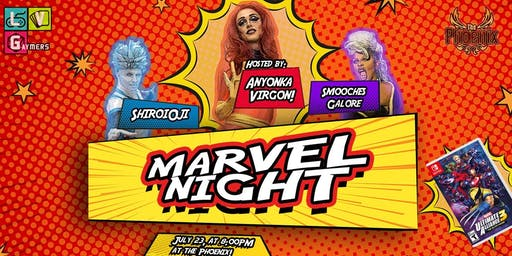 Marvel Night - Win a Copy of Marvel Ultimate Alliance 3!  NO COVER!
