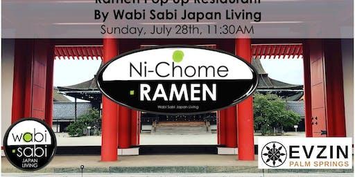 Pop Up Ramen Restaurant Sun, 7/28@ 11:30AM