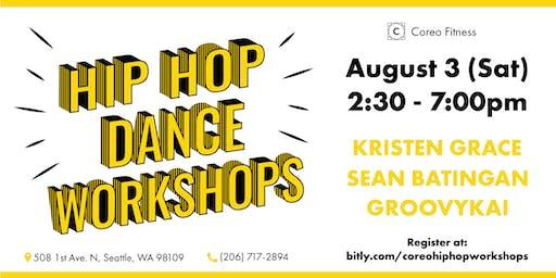 Hip Hop Dance Workshops at Coreo