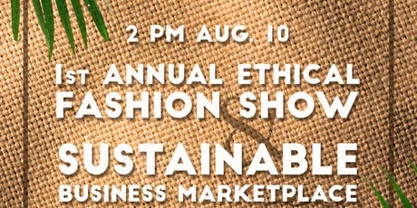 Ethical Fashion Show Fundraiser tickets