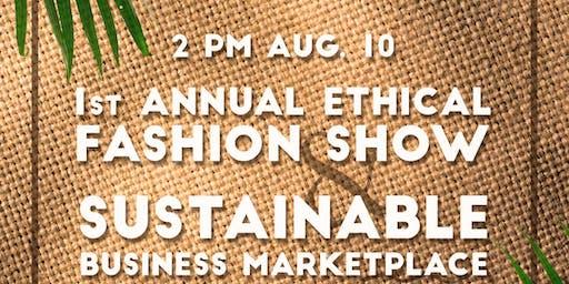 Ethical Fashion Show Fundraiser