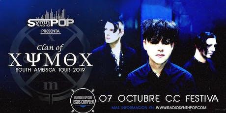 Fiesta oficial Clan of Xymox en Lima entradas
