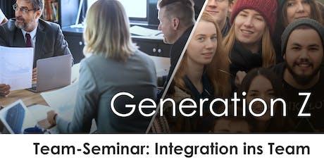 Team-Seminar: Generation Z integrieren & als Kollegen an Bord halten Tickets