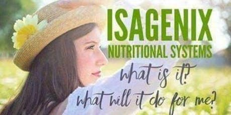 Isagenix Sip and Sample tickets
