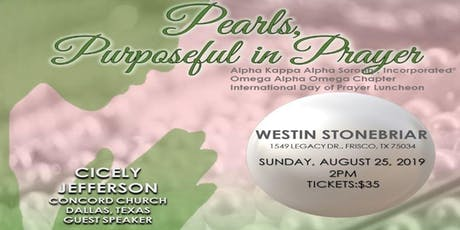 Omega Alpha Omega Chapter International Day of  Prayer Luncheon tickets