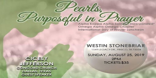 Omega Alpha Omega Chapter International Day of  Prayer Luncheon