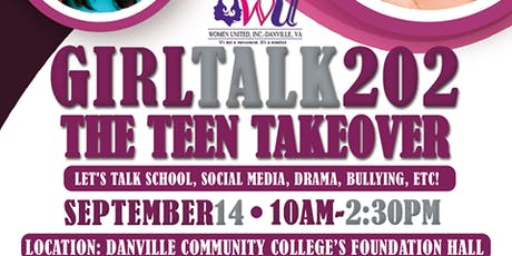 Girl Talk 202:  The Teen Takeover tickets
