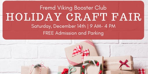 Fremd Booster Club Holiday Craft Fair 2019