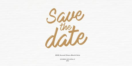2020 Second Chance Month Gala tickets