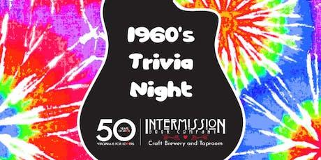History & Hops - 1960's Trivia Night! tickets