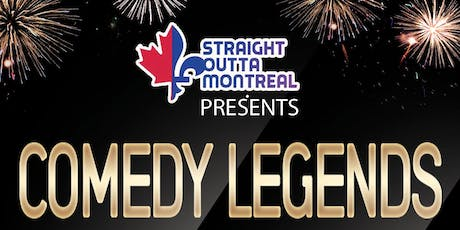 Montreal Comedy Club ( Comedy Legends ) Stand Up Comedy  tickets