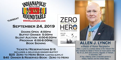 A Special Evening with Medal of Honor Recipient Allen J. Lynch tickets